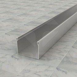 U-Shaped Window Channel Profile