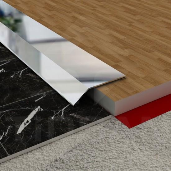 Sloping Edge-Levelling Flooring Profile